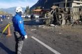 Accidente de bus cerca a Quito dejó 19 colombianos muertos, confirmó Cancillería