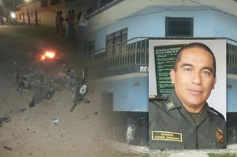 Un policía muerto y tres heridos dejan atentados en el norte del Cauca