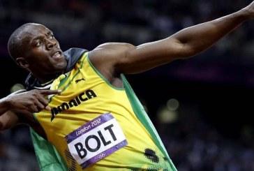 Usain Bolt marcó sus primeros dos goles como futbolista profesional