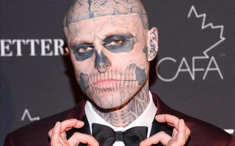 Zombie Boy El Modelo Más Tatuado Del Mundo Se Suicidó A Los 32 Años