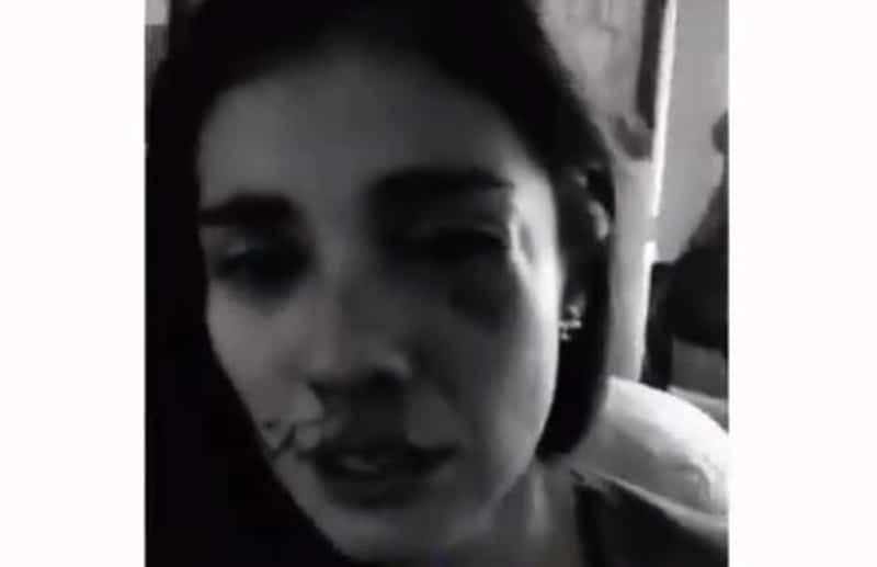 Revelan video minutos después de golpiza a Eileen, sangrando, pide ayuda