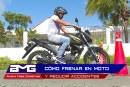 AMG: Cómo frenar en moto y reducir accidentes