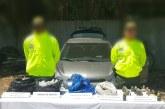 Autoridades incautan armas y explosivos que serían entregados al ELN en Buga