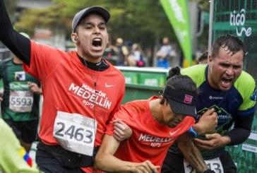 Un atleta falleció y otro fue arrollado por un vehículo en la Maratón de Medellín