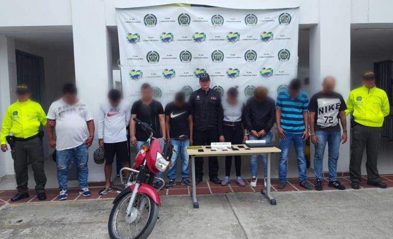 Autoridades desarticularon banda delincuencial denominada 'Los de Zarzal'