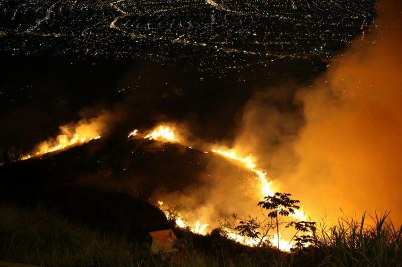 Cvc informó que Cerro de Cristo Rey estará blindado contra incendios forestales