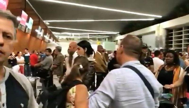 Cancelación de vuelo internacional de Avianca generó caos en el Alfonso Bonilla Aragón