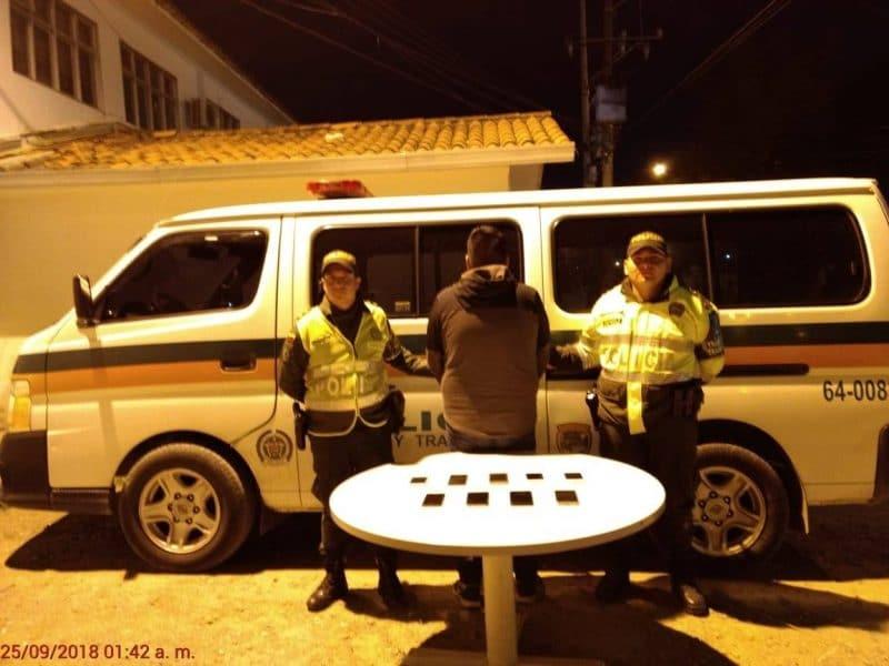 Cárcel a hombre peruano que transportaba celulares hurtados hacia Ecuador