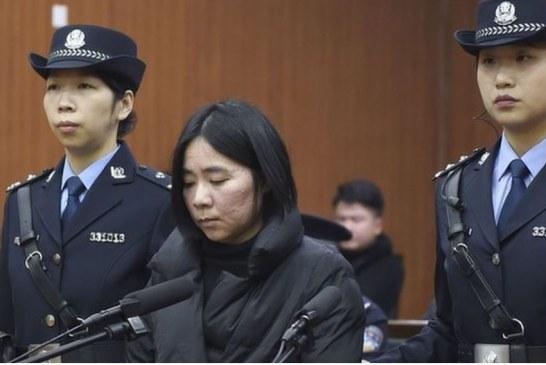 China ejecutó este viernes a niñera pirómana que mató a una familia