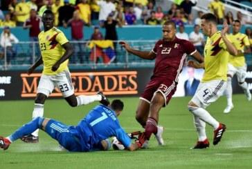 Colombia logra victoria al final del encuentro ante Venezuela en Estados Unidos