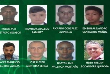 Conozca el rostro de los más buscados por la Policía en el Valle del Cauca