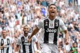 Cristiano Ronaldo marca doblete en partido de Juventus contra Sassuolo