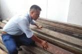 Autoridades decomisan 78 vigas de mangle en Loboguerrero, Dagua