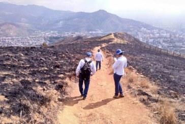 Instalarán dos cámaras térmicas adicionales para vigilar cerros de Cali tras incendio