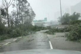China: tifón Mangkut dejó al menos cuatro muertos y miles de damnificados