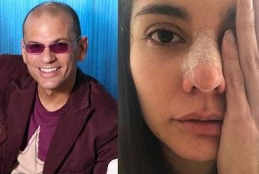 Pese al rechazo de mánager de actriz golpeada, este sube fotos con el agresor