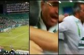 Eufórica reacción de directivos del Deportivo Cali en tanda de penales