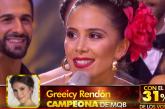 Greeicy bailó y ganó, la caleña fue ganadora de 'Mira quién baila' México