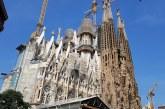 Iglesia de la Sagrada Familia de Barcelona avanza en un 70% de sus obras