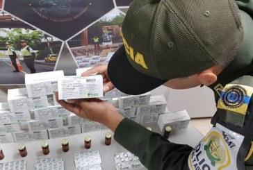 Incautan más de 25 millones de pesos en medicamentos de contrabando en Pradera, Valle