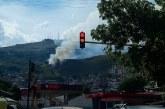 Nuevo incendio afecta los cerros tutelares de Cali, Bomberos trabajan en el lugar
