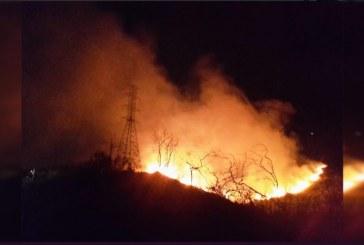 Alarma: desde el mes de julio, 595 incendios forestales han afectado al Valle