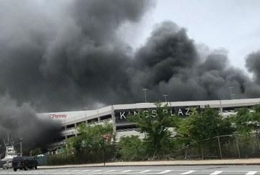 Video: 21 heridos por incendio en parqueadero de centro comercial en Nueva York
