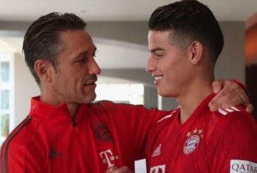 """""""Sin duda jugará en los otros partidos"""": técnico del Bayern sobre James"""