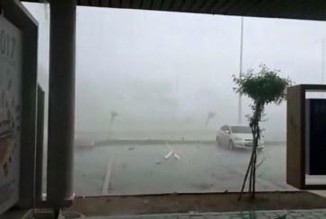 Video: pánico entre los habitantes de Tuluá por fuertes lluvias con granizo del domingo