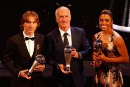 Luka Modric y la brasileña Marta, mejores futbolistas del año, según la FIFA