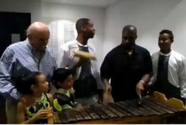 Marimba y salsa: así fue como disfrutó Kanye West con la cultura de Cali