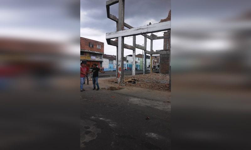 Mujer murió luego de que un muro le cayera encima en demolición en el centro de Cali
