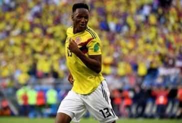 Yerry Mina sufrió una lesión, según informe de su club