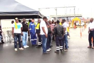 A paro de empleados de TCBUEN, piden mejoras en sus condiciones de trabajo