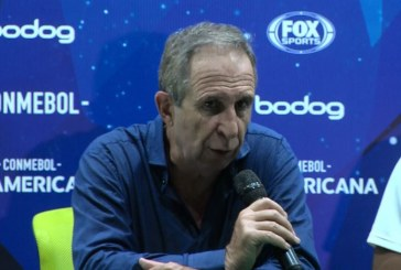 Autocrítica de Gerardo Pelusso tras eliminación del Deportivo Cali ante Santa Fe