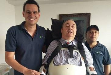 Luego de 14 años, 'El profe', Luis Fernando Montoya logró ponerse de pie