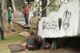 Autoridades realizan control a cambuches de habitantes de calle en ribera del río Cali