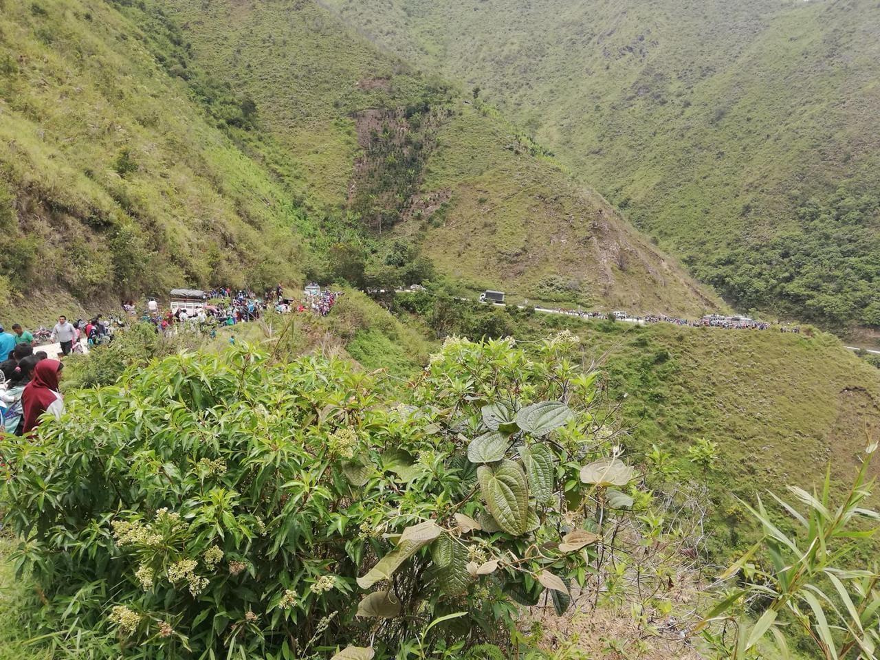 Seis muertos y 10 heridos dejó accidente de tránsito en zona rural de Páez, Cauca