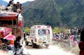Seis muertos y diez heridos dejó accidente de tránsito en Páez, Cauca