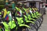 Con nueve motocicletas actualizan parque automotor de Policía de Sevilla, Valle
