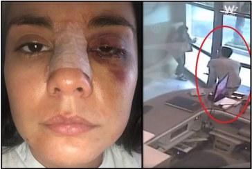 Revelan video donde agresor de Eileen pide de rodillas que no lo denuncien