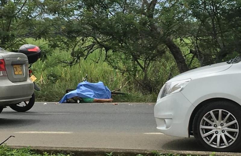 Accidente de tránsito dejó un hombre muerto y otro herido en vía Cali – Jamundí