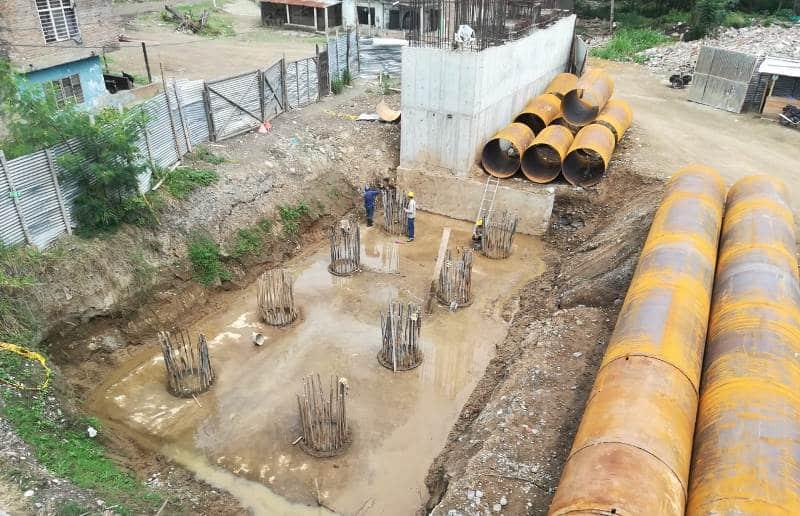 Inició instalación de aisladores sísmicos en el nuevo puente de Juanchito