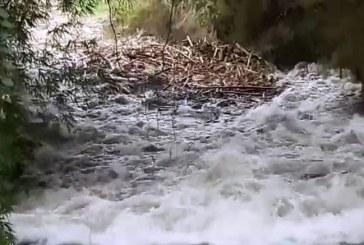 Alerta por crecientes y empalizadas en ríos del Valle tras fuertes lluvias del fin de semana