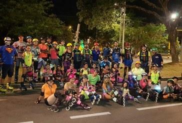 Más de 25 mil personas participaron de tercera Ciclovida nocturna de Cali