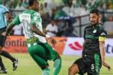 Cali y Nacional se fueron a 0 en el vibrante clásico de verdes disputado en Medellín