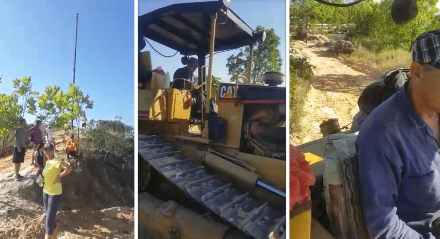 Ante polémica por video en que intervienen al Cerro la Bandera, CVC responde