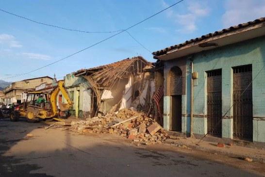 Tres casas dedicadas a la venta de droga en el centro de Cali fueron demolidas