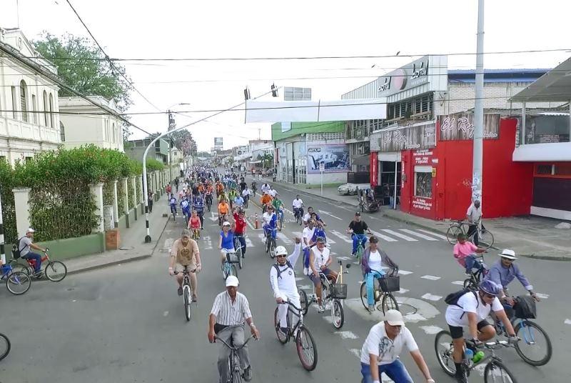 Por Día sin Carro y Moto en Palmira, más de 100.000 vehículos dejan de circular