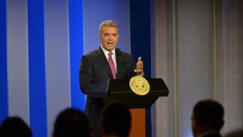 Duque reitera que Colombia no cerrará sus fronteras a los migrantes venezolanos